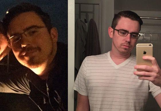 45 lbs Weight Loss 5 foot 11 Male 215 lbs to 170 lbs