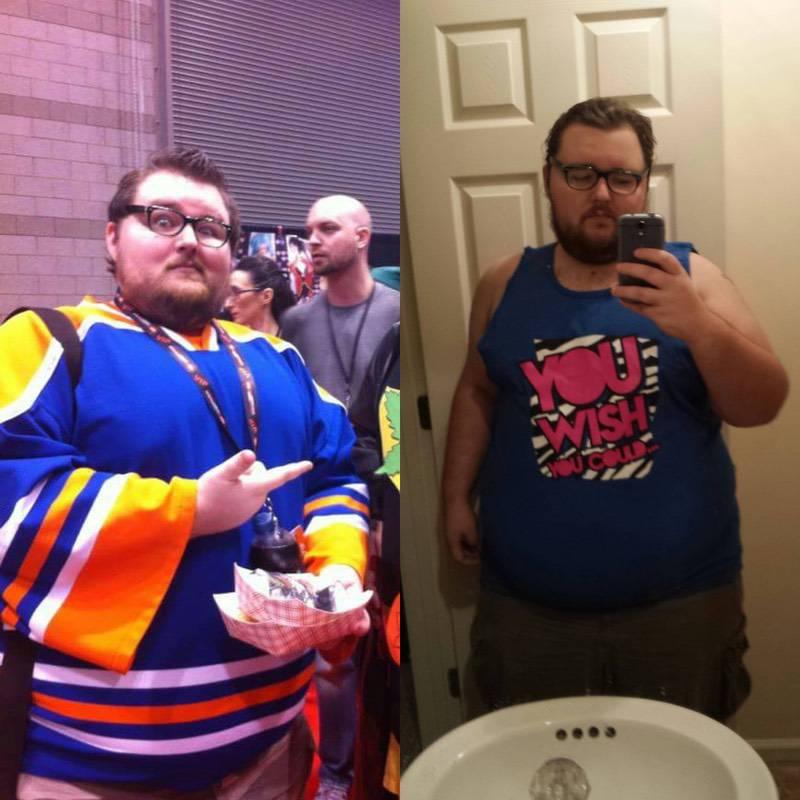 5 feet 10 Male 57 lbs Weight Loss 437 lbs to 380 lbs