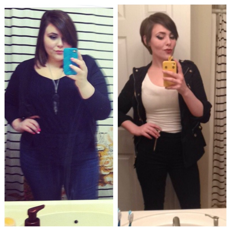 5 foot 5 Female 127 lbs Fat Loss Before and After 255 lbs to 128 lbs