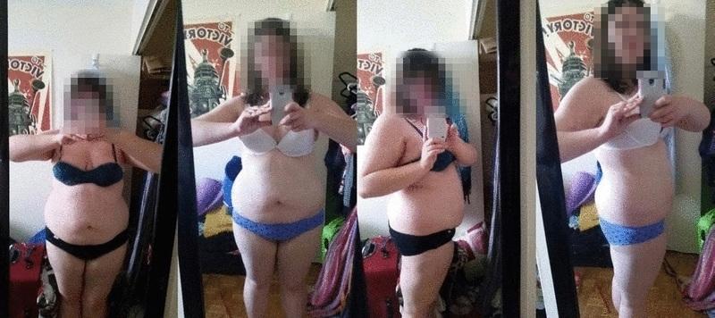 Progress Pics of 36 lbs Weight Loss 5'11 Female 261 lbs to 225 lbs