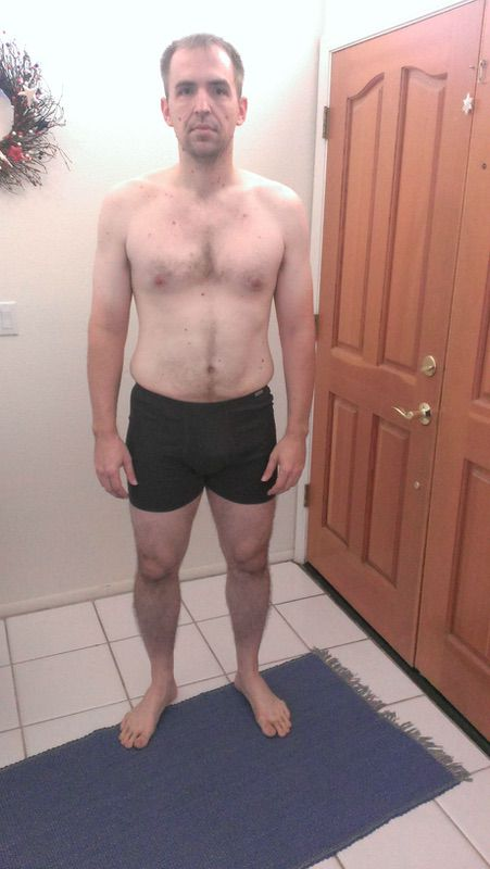 4 Pics of a 234 lbs 6 feet 3 Male Weight Snapshot