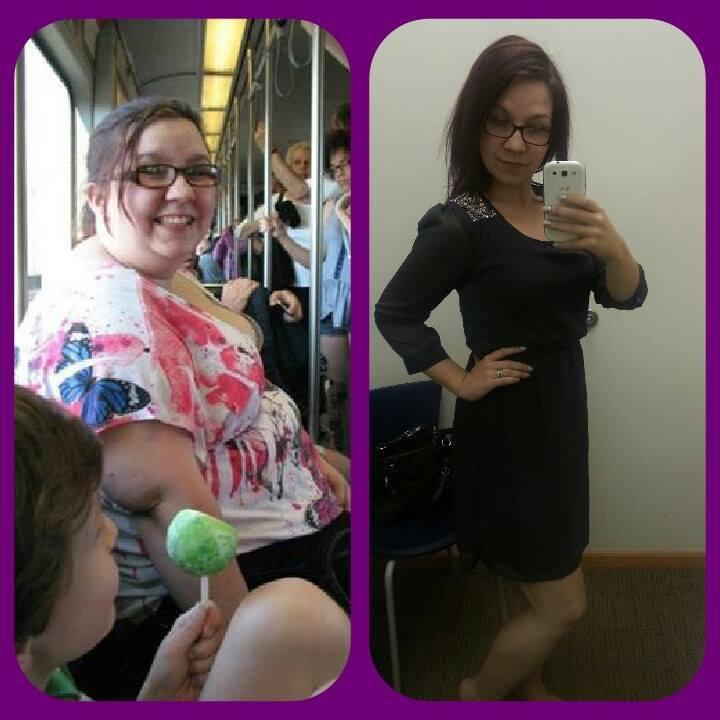 5 feet 6 Female 170 lbs Fat Loss 310 lbs to 140 lbs