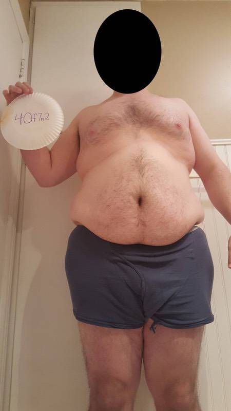6 Pics of a 311 lbs 6 feet 3 Male Weight Snapshot