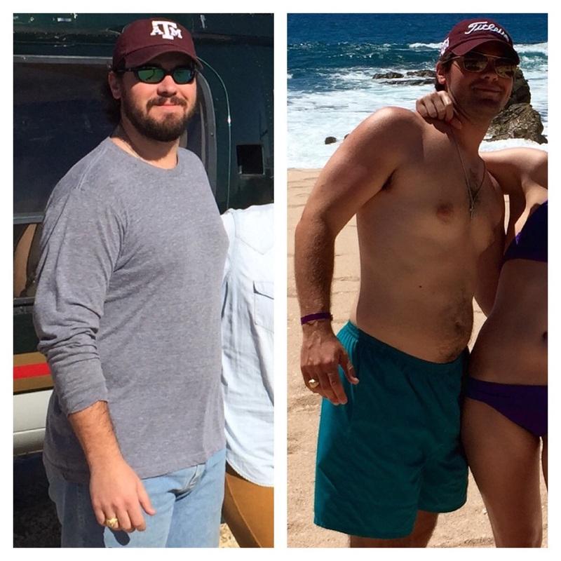 Progress Pics of 43 lbs Weight Loss 6 foot Male 241 lbs to 198 lbs