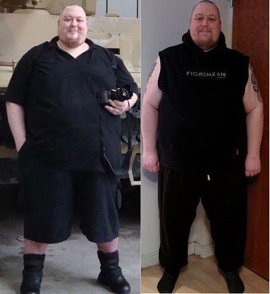6 feet 1 Male 119 lbs Weight Loss 560 lbs to 441 lbs
