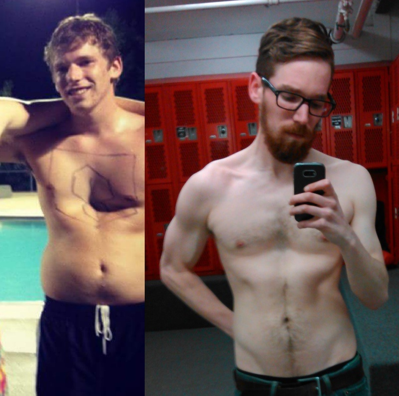 20 lbs Weight Loss 5 feet 11 Male 170 lbs to 150 lbs