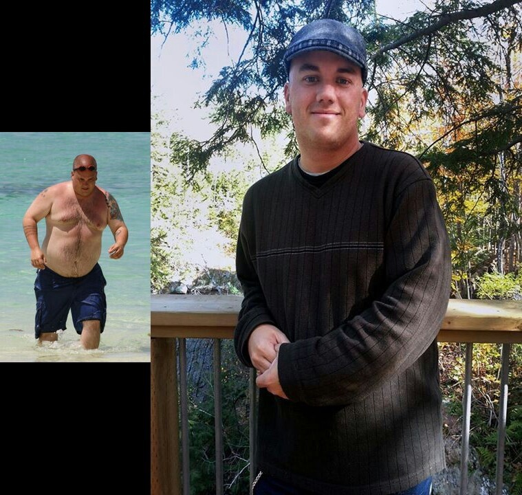 46 lbs Weight Loss Before and After 5'8 Male 240 lbs to 194 lbs