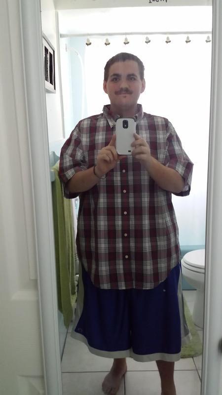 5'7 Male Progress Pics of 147 lbs Weight Loss 417 lbs to 270 lbs