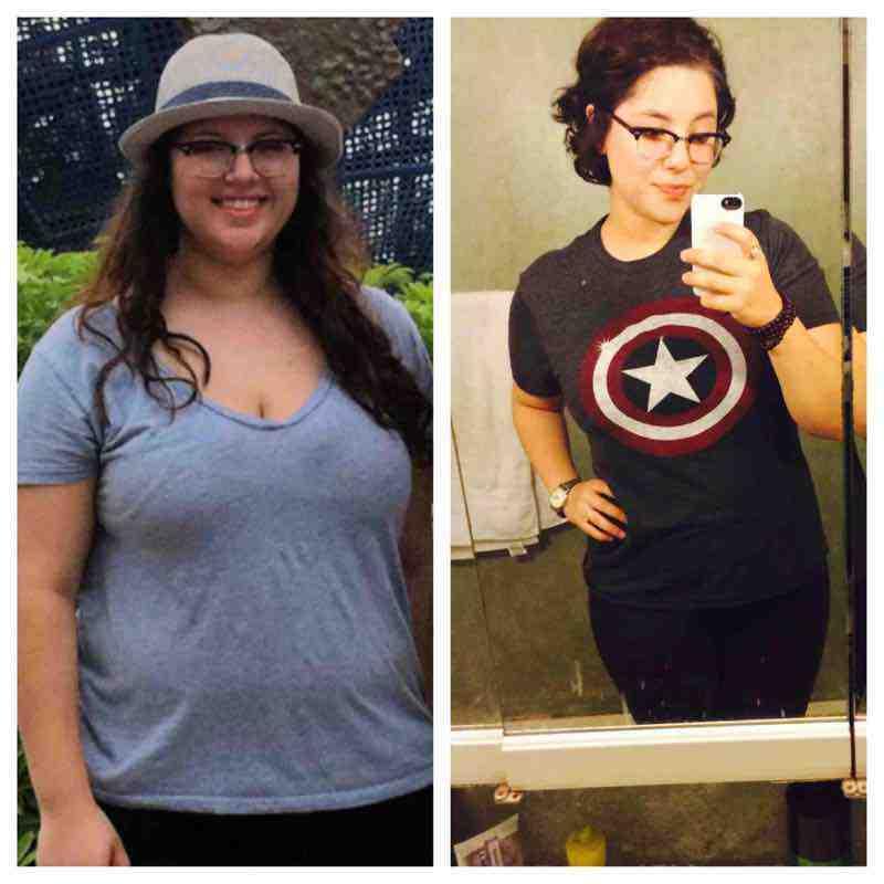 Progress Pics of 55 lbs Fat Loss 5 feet 10 Female 235 lbs to 180 lbs