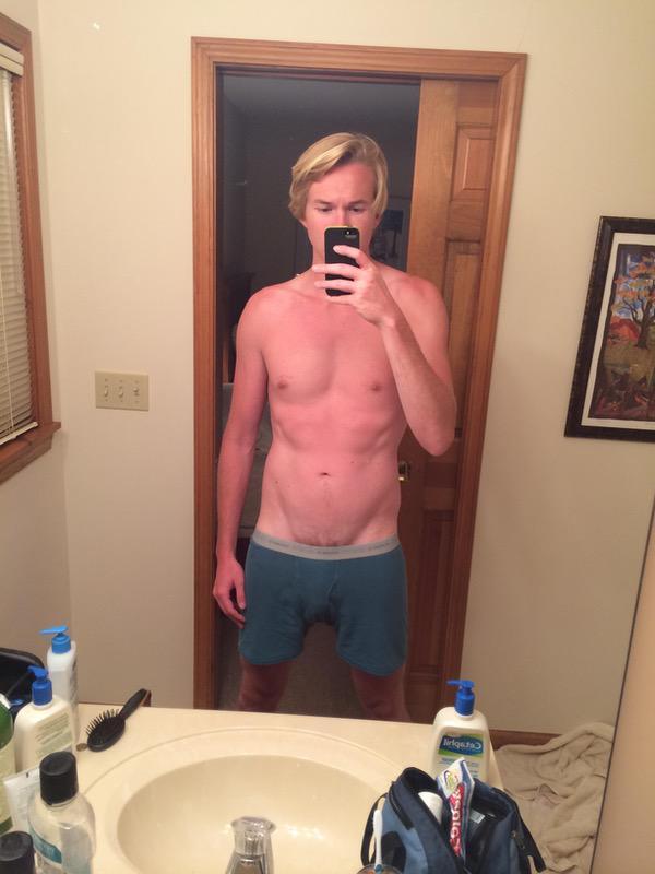 6 foot 1 Male Progress Pics of 5 lbs Weight Loss 170 lbs to 165 lbs