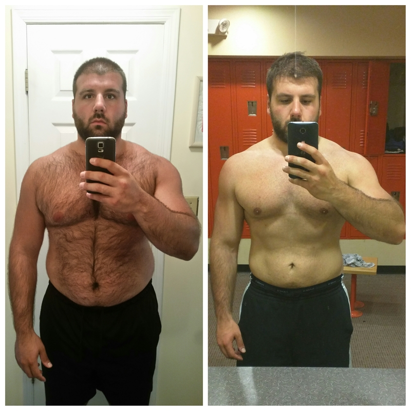 6 foot Male Progress Pics of 40 lbs Weight Loss 270 lbs to 230 lbs