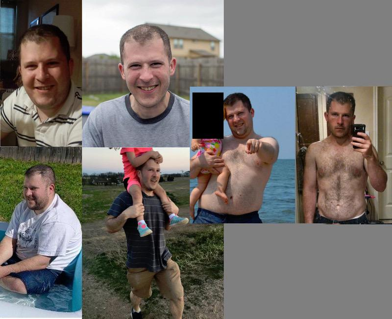 5 foot 6 Male Before and After 60 lbs Fat Loss 210 lbs to 150 lbs