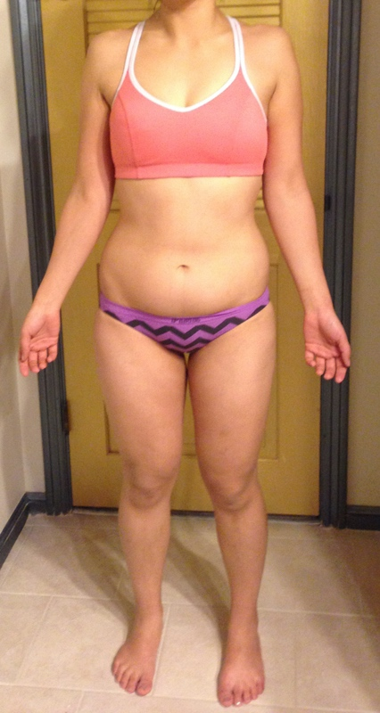 4 Pictures of a 5 feet 5 137 lbs Female Fitness Inspo