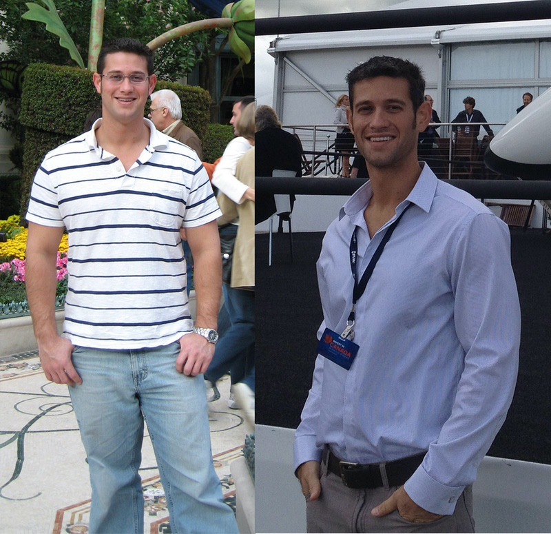 5 foot 11 Male Progress Pics of 45 lbs Fat Loss 205 lbs to 160 lbs