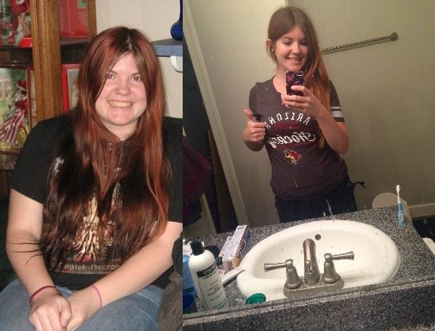 5'5 Female Progress Pics of 59 lbs Fat Loss 197 lbs to 138 lbs
