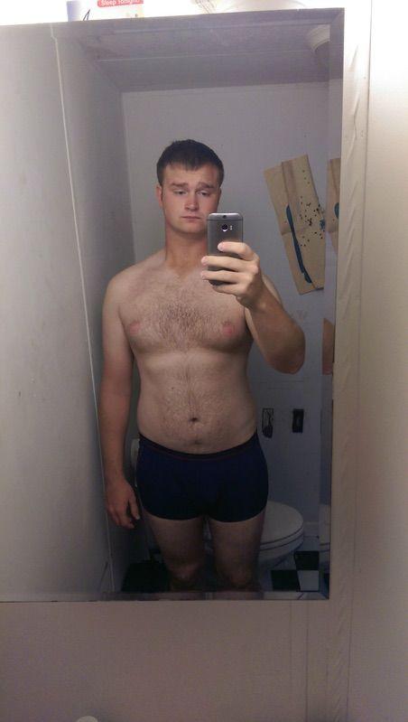 6 foot 6 Male 45 lbs Weight Loss 260 lbs to 215 lbs