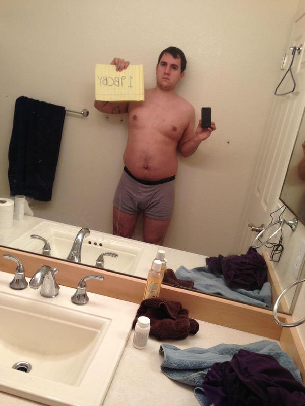 4 Pics of a 5 feet 11 222 lbs Male Fitness Inspo