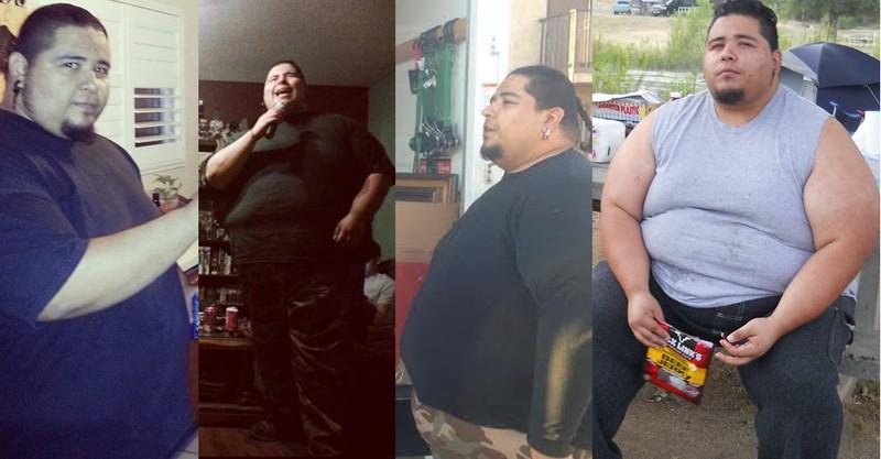125 lbs Fat Loss 6 foot Male 489 lbs to 364 lbs