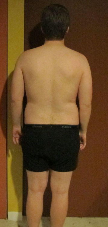 4 Photos of a 205 lbs 5'11 Male Weight Snapshot