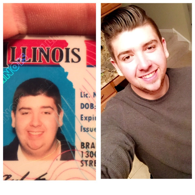 50 lbs Weight Loss Before and After 6 feet 5 Male 301 lbs to 251 lbs