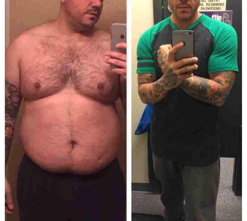 Progress Pics of 77 lbs Weight Loss 5 foot 9 Male 255 lbs to 178 lbs