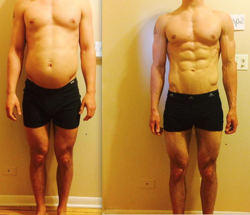 10 Pics of a 167 lbs 6 foot Male Weight Snapshot