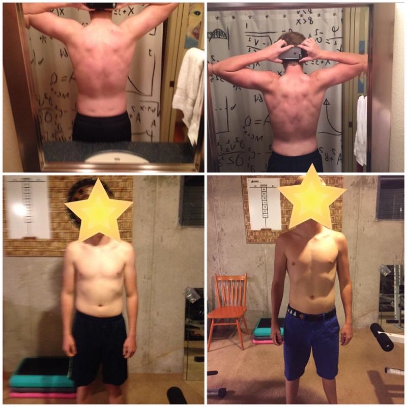 5 lbs Muscle Gain 5'8 Male 140 lbs to 145 lbs