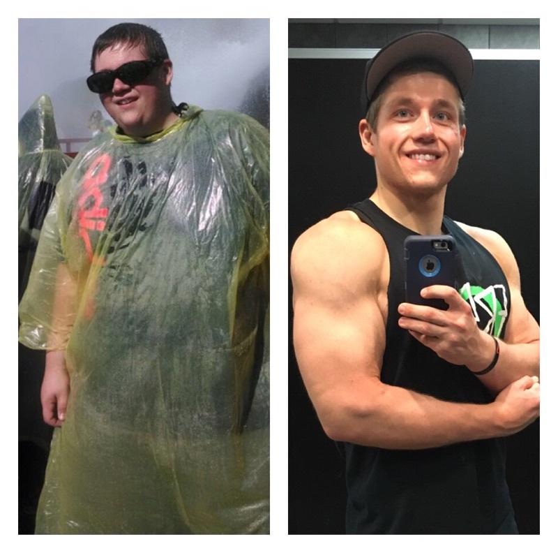 Progress Pics of 210 lbs Fat Loss 5'10 Male 400 lbs to 190 lbs