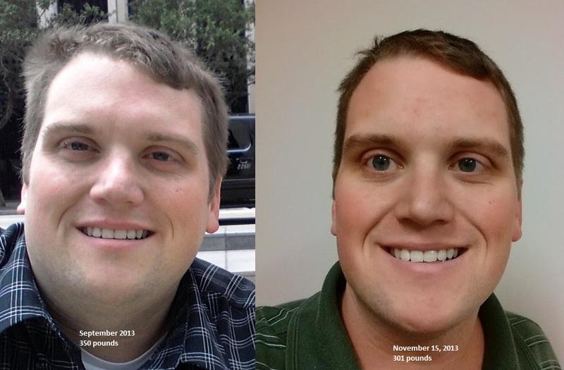 6 foot Male Progress Pics of 49 lbs Fat Loss 350 lbs to 301 lbs