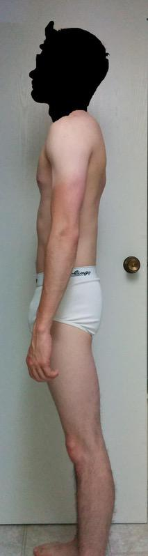 4 Pics of a 5 feet 10 120 lbs Male Weight Snapshot