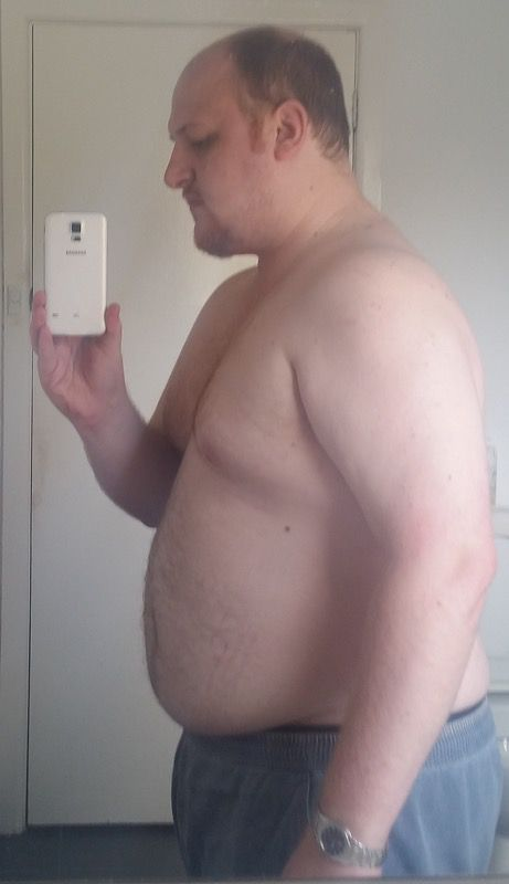 5'10 Male Before and After 111 lbs Fat Loss 285 lbs to 174 lbs
