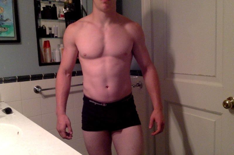 15 lbs Fat Loss 5 foot 11 Male 170 lbs to 155 lbs