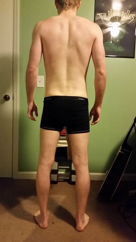 1 Pictures of a 138 lbs 5 feet 9 Male Weight Snapshot