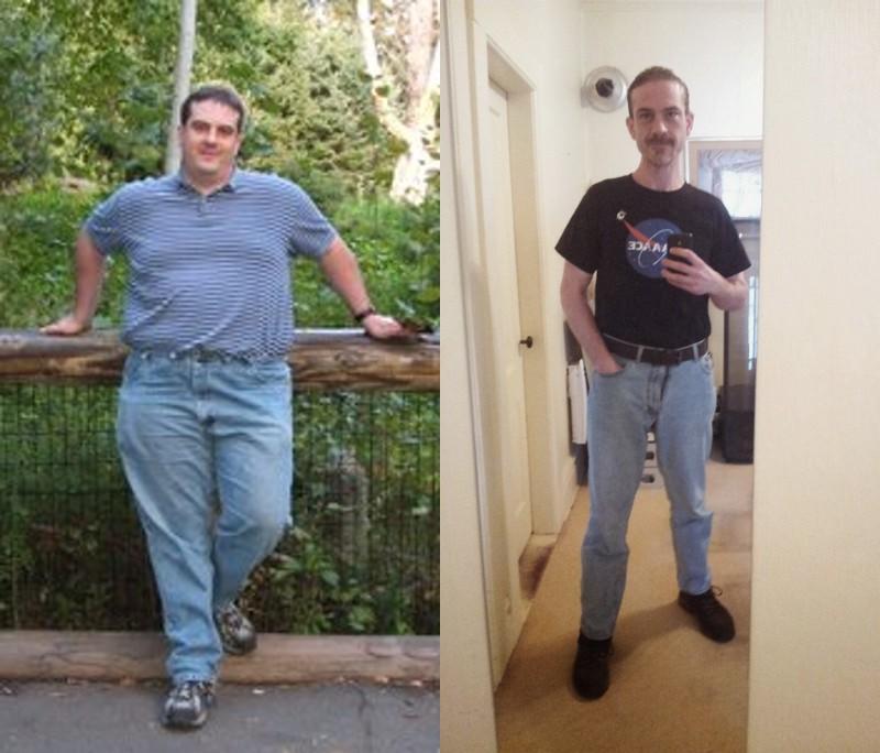 Progress Pics of 140 lbs Weight Loss 6 foot Male 300 lbs to 160 lbs