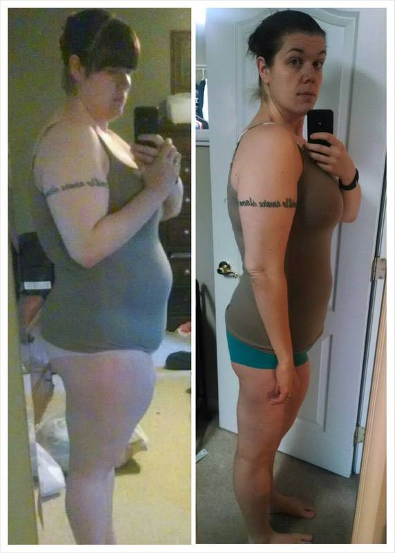 80 lbs Weight Loss 6 foot Female 291 lbs to 211 lbs