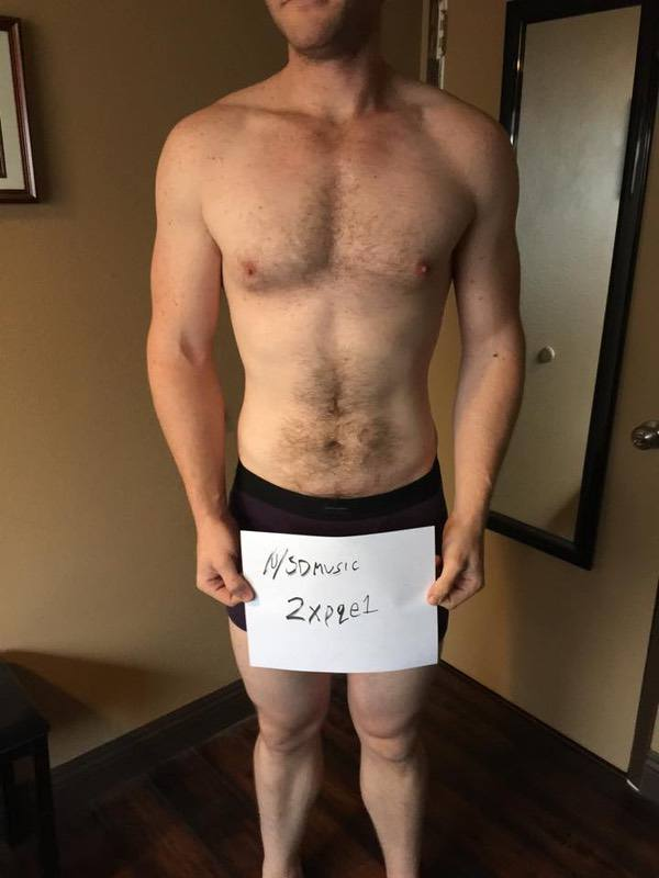 3 Pics of a 206 lbs 6 foot 3 Male Weight Snapshot