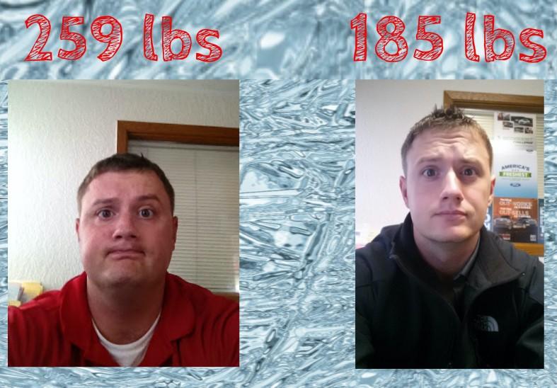 6'1 Male Progress Pics of 74 lbs Weight Loss 259 lbs to 185 lbs