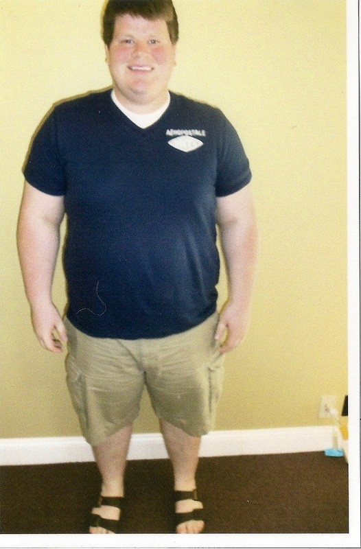Before and After 122 lbs Weight Loss 5'11 Male 327 lbs to 205 lbs