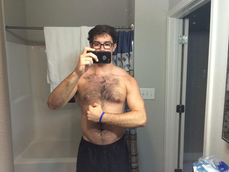 3 Photos of a 205 lbs 6 foot 1 Male Fitness Inspo