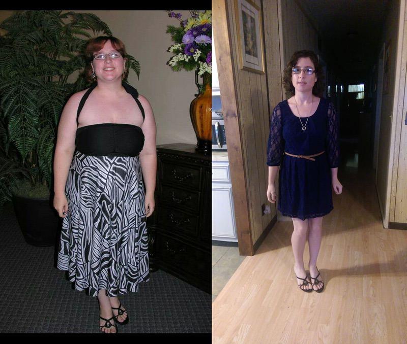 5'1 Female Progress Pics of 85 lbs Weight Loss 210 lbs to 125 lbs