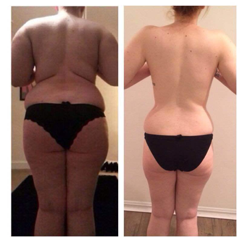 76 lbs Fat Loss 5 foot 7 Female 238 lbs to 162 lbs