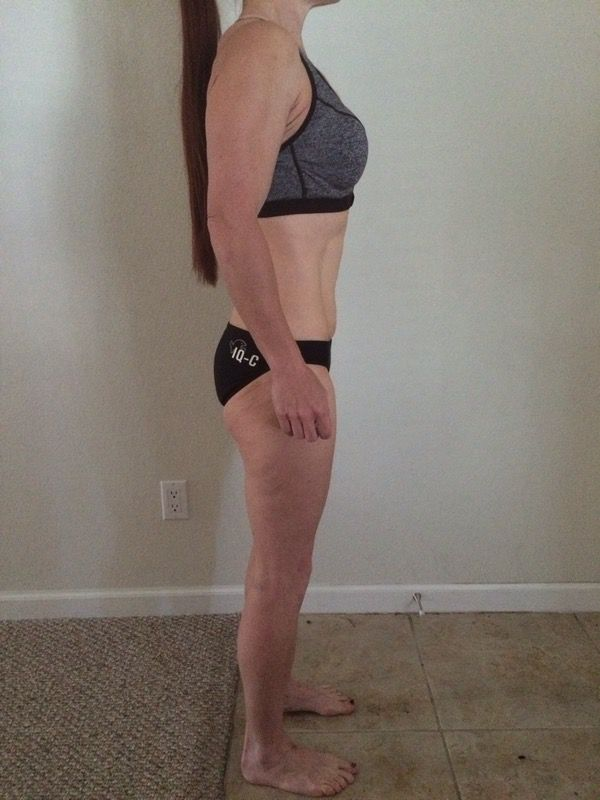 3 Photos of a 114 lbs 5 foot 5 Female Fitness Inspo
