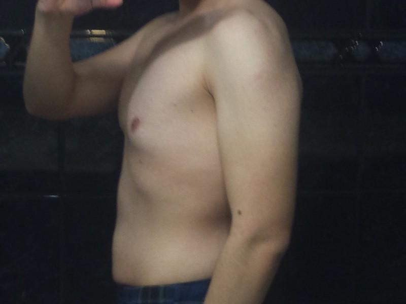 2 Photos of a 140 lbs 5 feet 4 Male Weight Snapshot