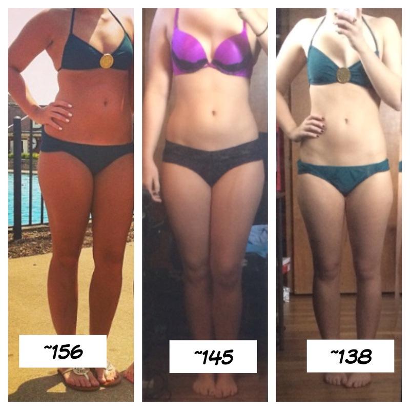 5'6 Female 21 lbs Fat Loss 156 lbs to 135 lbs