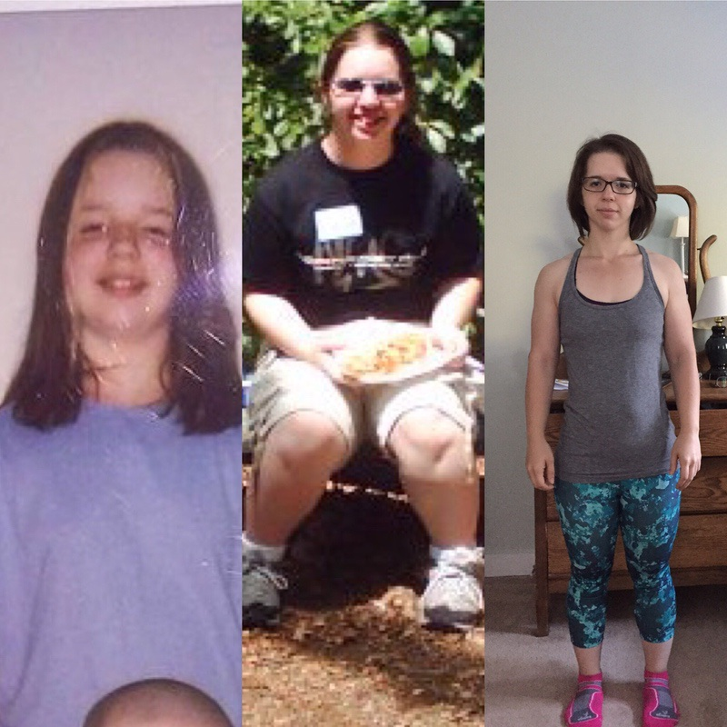 5 foot Female Before and After 63 lbs Fat Loss 190 lbs to 127 lbs
