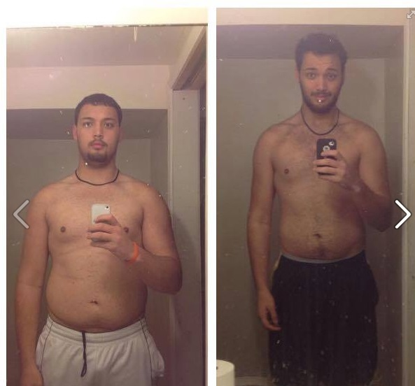 6 feet 7 Male 55 lbs Weight Loss Before and After 300 lbs to 245 lbs
