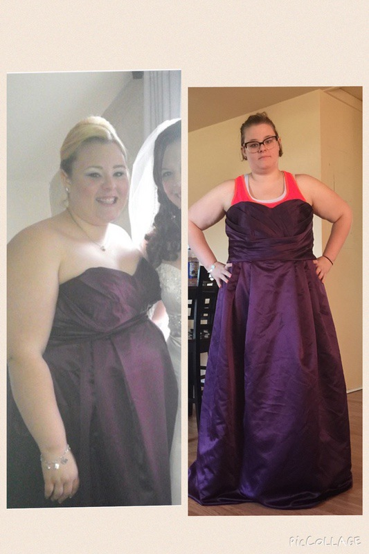5'5 Female Progress Pics of 5 lbs Weight Gain 315 lbs to 320 lbs