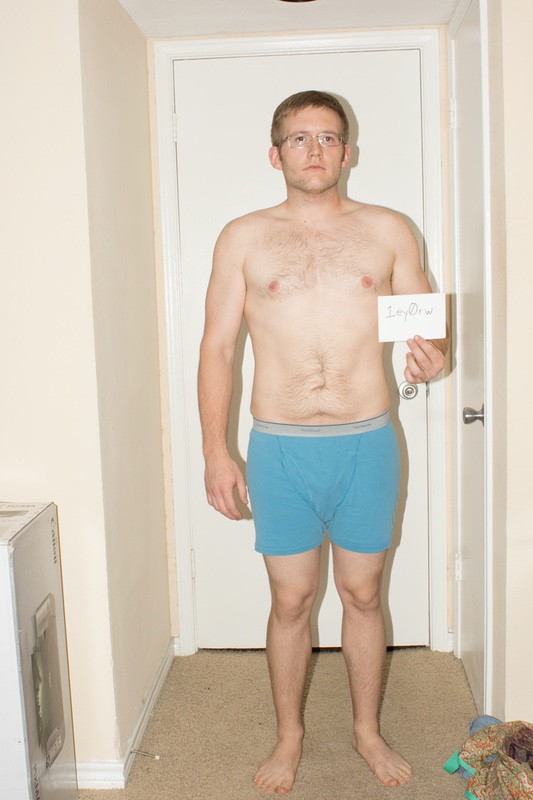 8 Pictures of a 5 foot 10 198 lbs Male Weight Snapshot