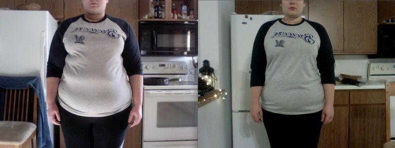 5 foot 10 Female Progress Pics of 30 lbs Weight Loss 323 lbs to 293 lbs