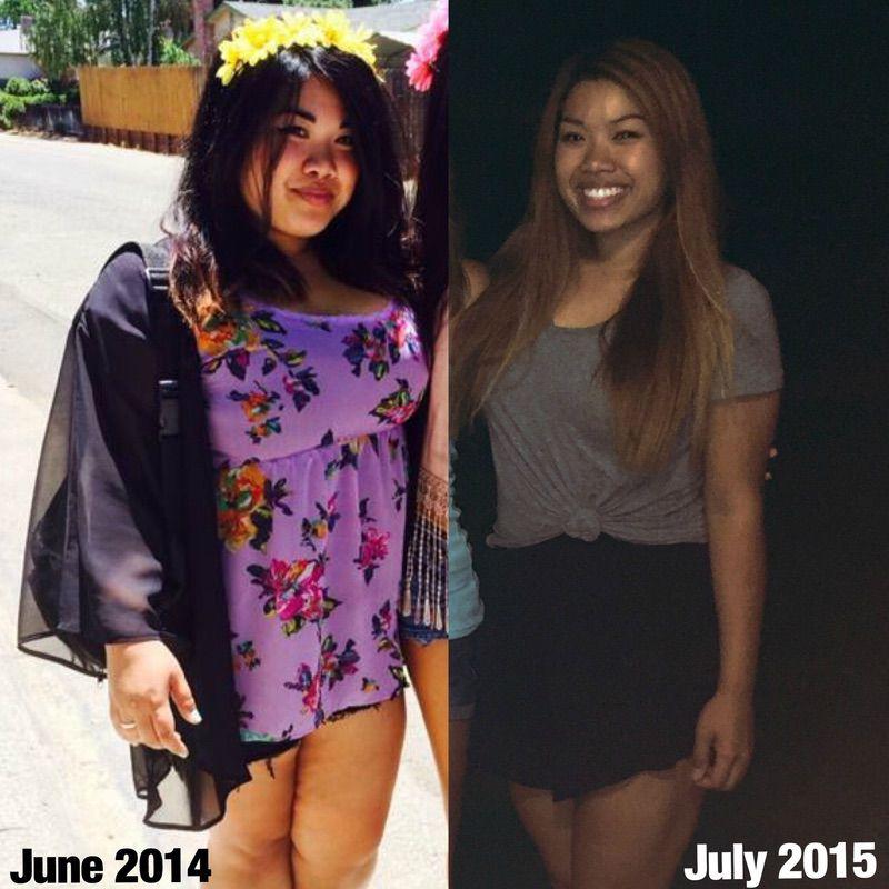 72 lbs Fat Loss 5 foot 2 Female 203 lbs to 131 lbs